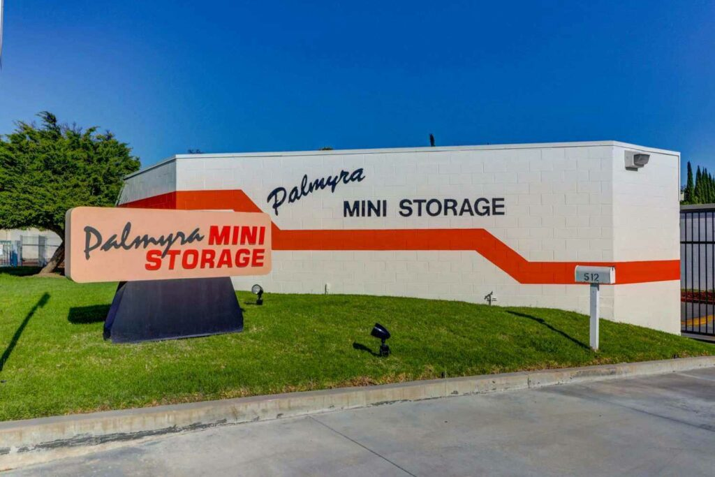 Palmyra Mini Storage Driveway