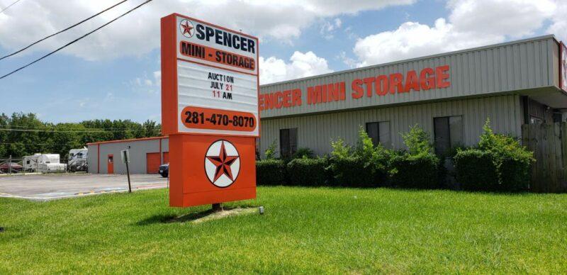 Spencer Mini Monument Sign