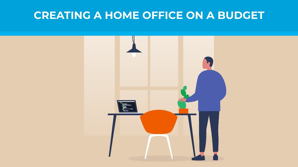Creating a home office on a budget