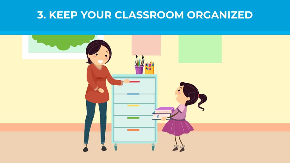 Keep your classroom organized